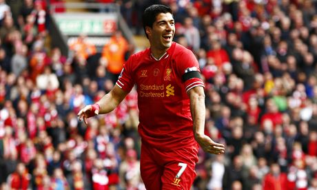 Liverpool fans need to stay calm for title run-in, says Luis Suárez