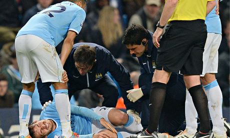 Manchester City's David Silva cannot play every three days because of his chronic ankle injury
