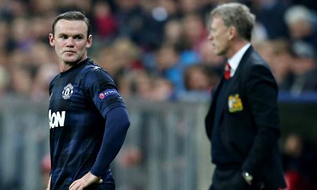 Wayne Rooney's all-action role fails to reward United's David Moyes | Jamie Jackson