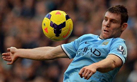 James Milner had limited opportunities in Manchester City's title-winning side this season