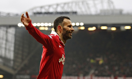 The celebrity footballer was gathering pace when Ryan Giggs arrived but it did not consume him