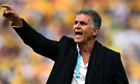 Carlos Queiroz said his Iran players deserve 'respect and civility' for reaching the finals