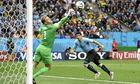 Luis Suarez scores