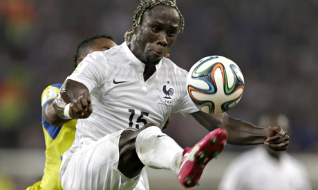 Bacary Sagna, here against Ecuador on Wednesday, will probably be second choice for Manchester City.