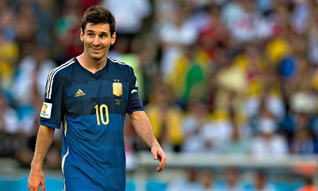 Argentina's Lionel Messi was chosen as the best player of the World Cup 2014 tournament by Fifa.