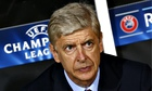 Arsenal's Arsène Wenger was critical of the referee's performance in the first leg against Besiktas