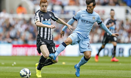 Jack Colback, left, who has been called up by England, joined Newcastle from Sunderland this summer