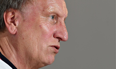 Neil Warnock's last visit to Newcastle with Crystal Palace was under a cloud of administration