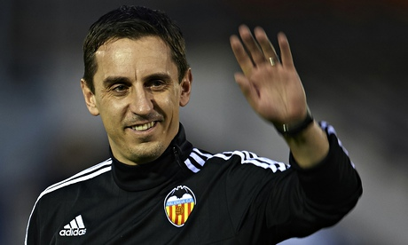 Gary Neville nerveless before Valencia bow in vital Champions League game