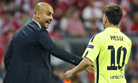 Lionel Messi is the best player of all time, says Bayern's Pep Guardiola