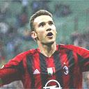 Andriy Shevchenko celebrates