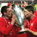Jamie Carragher and Steven Gerrard