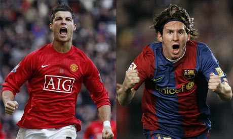 a comparison between lionel messi and cristiano ronaldo two best soccer players in the world It's pretty remarkable that the lionel messi v cristiano ronaldo  side of 30, they' re still regarded as the world's two best footballers at the.