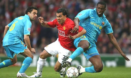 Carlos Tevez and Yaya Toure