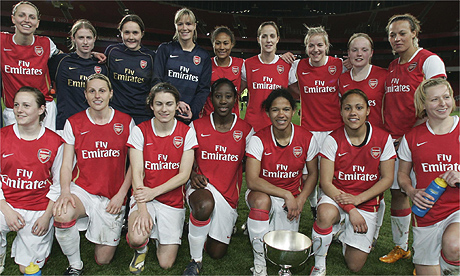 Arsenal Ladies, 2008 Premier League winners