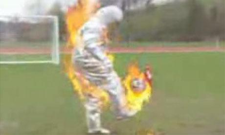 Cesc Fabregas on fire