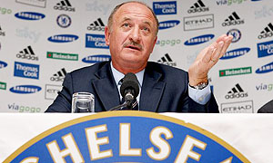 Scolari press conference