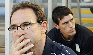 Martin O'Neill and Gareth Barry