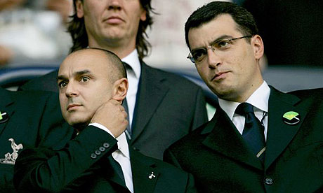Daniel Levy and Damien Comolli