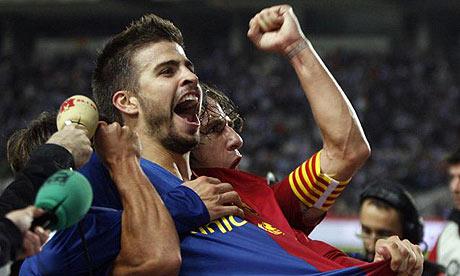 Gerard Pique Barcelona 2010. Gerard Piqué