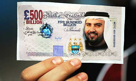 Manchester City fans have wholeheartedly embraced the takeover from Abu Dhabi