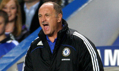Luiz Felipe Scolari Chelsea Premier League Luiz Felipe