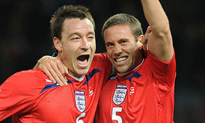 John Terry and Matthew Upson