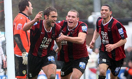 FA Cup second round: Histon 1-0 Leeds United | Football | The Guardian