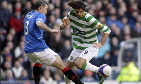 David Weir tackles Georgios Samaras