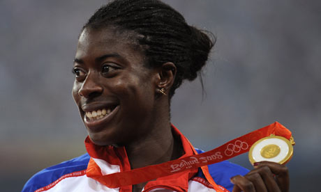 Christine Ohuruogu keen to work with 2012 organisers | Sport | The Guardian - Christine-Ohuruogu-002