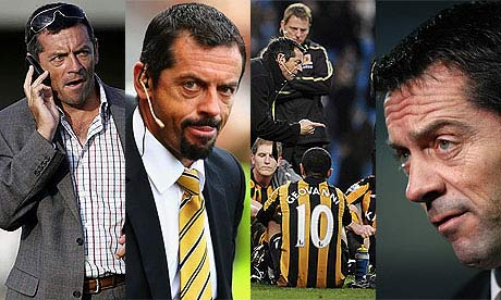 The four stages of Phil Brown