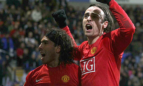 Berbatov and Tevez