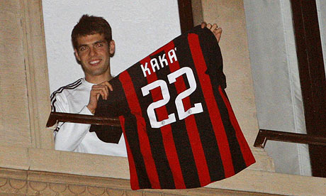 AC Milans Kaka shows his  001 Manchester City Left Broken Hearted By Kaka