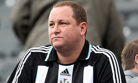 Ashley - Looking to sell Newcastle United