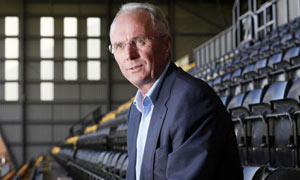 Sven-Goran Eriksson, the Notts County director of football