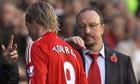 Rafael Benitez substitutes Fernando Torres
