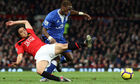 Rafael tackles Saha