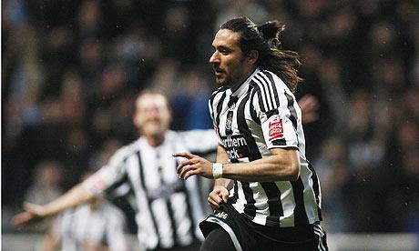 Jonas Gutiierrez doing very well for Newcastle United so far this season