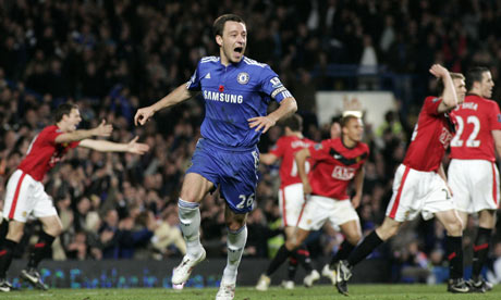 John Terry scores