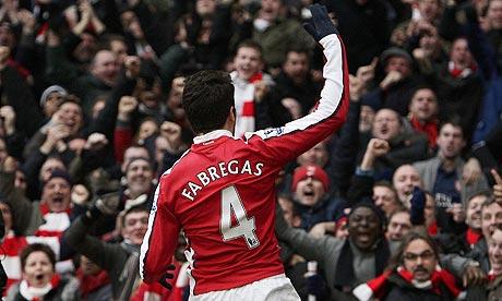 28 minutes and out: Cesc Fabregas (Arsenal) vs Aston Villa (VIDEO)