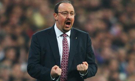 Rafael Benitez manager of Liverpool