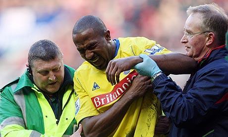 Ricardo Fuller injury