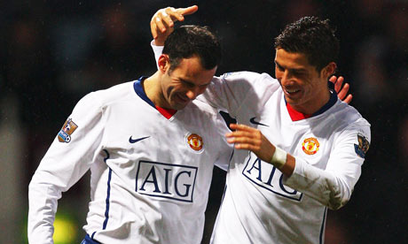 Giggs and Ronaldo