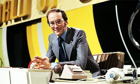 Fred Dinenage presenting World of Sport