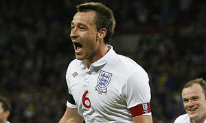 John Terry of England celebrates