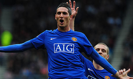 Macheda scores against Sunderland