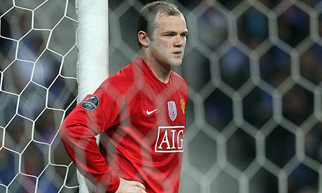 Wayne Rooney Manchester United Everton football