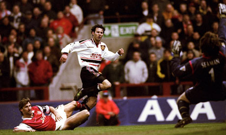 Giggs wonder goal vs. Arsenal