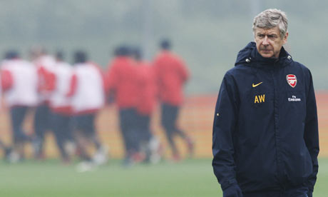 Ars ne Wenger 001 Arsenal Forced Back To Reality.