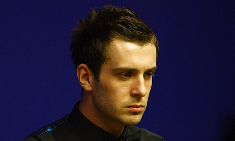 mark selby. Mark Selby looks pensive